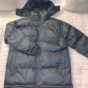 Andrew Marc New York Down Hooded Puffer Jacket